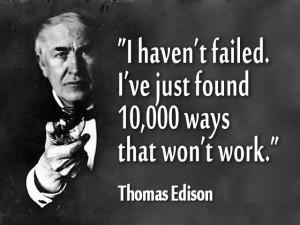 Vision Like Thomas Edison