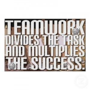 Teamwork always works
