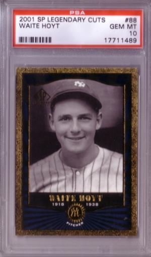WAITE HOYT 1930 1931