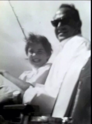 Lorna Luft and dad, Sid
