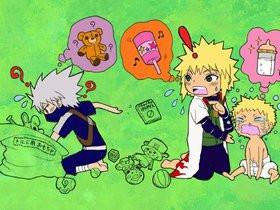 Naruto Minato Kushina Kakashi Photos