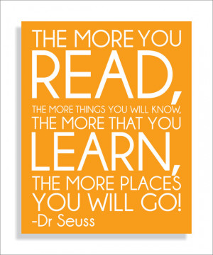 Reading Quotes For Kids Dr Seuss Dr seuss quote read