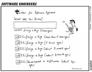 Software Engineer's Tweets (http://goo.gl/x0gTX)