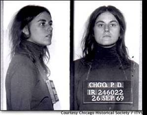 ... to trial. Bill Ayers and Bernadine Dohrn were standing trial when