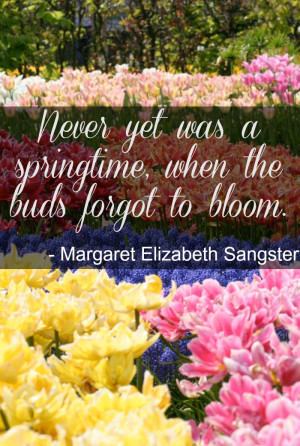 Spring Time Inspirational Quotes