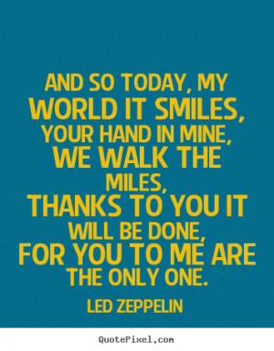 Led Zeppelin Love Quote Words