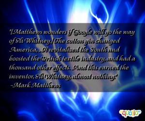 Whitney Quotes