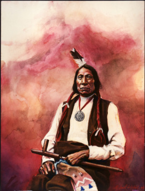 Chief Red Cloud Chief red cloud - illustration