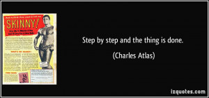 Step by Step Quotes