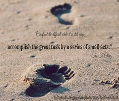 ... of small acts.