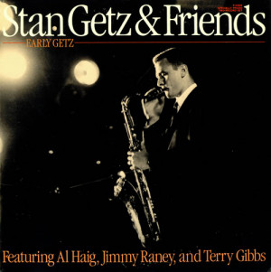 Stan Getz Early Getz USA DOUBLE LP P-24088