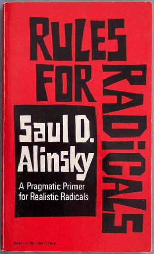 Cover: Rules for Radicals. Picture taken by cddrummbks and was sourced ...