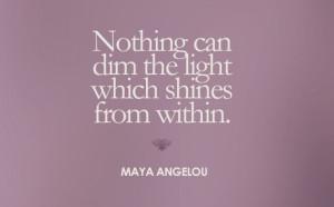 Maya Angelou Tattoo Quotes