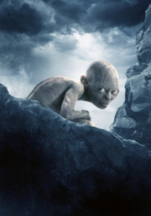 Gollum (Andy Serkis), Lord of the Rings