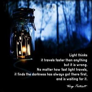 Terry Pratchett #quote More