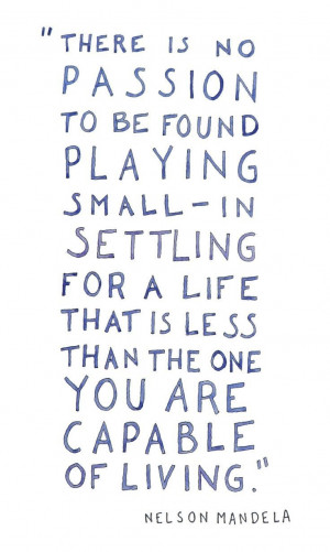 Don't settle for less.