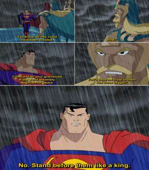 Justice League Animated Series Quote-3