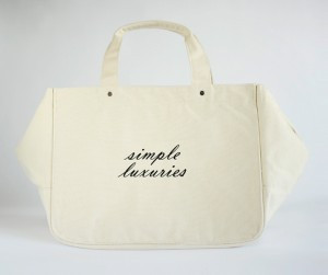 Each bag is lined with handwritten inspirational quotes that the girls ...