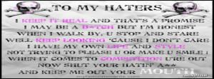 Haters Facebook Covers, Haters FB Covers, Haters Facebook Timeline ...