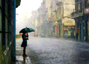 romantic rainy weather quotes
