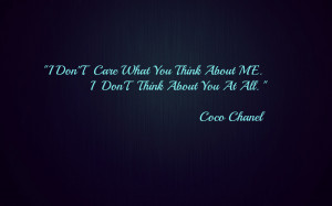 Coco chanel quote Wallpapers Pictures Photos Images