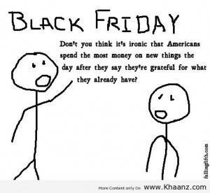 Black Friday Funny Americans Quote