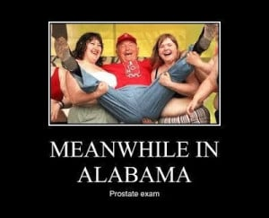 Meanwhile in Alabama...