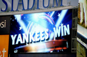 Yankees Win on 13th Anniversary