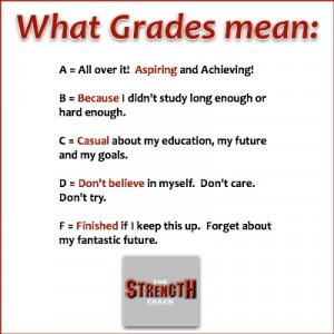good grades quotes