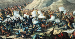 ... native american warriors, native american battles, custer's last stand