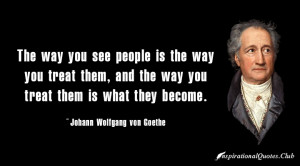 JOHANN WOLFGANG VON GOETHE QUOTES CHARACTER