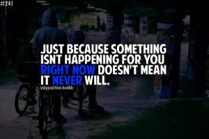 STAY POSITIVE life, destiny, text, quotes, struggle, wisdom, stay ...