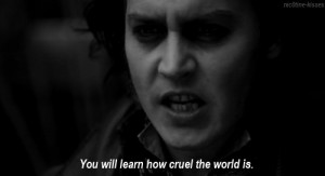 Sweeney Todd Black White