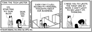 Dilbert Quotes Contest They Were Looking For People Submit