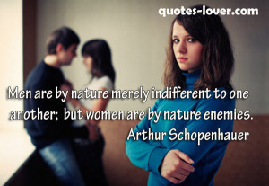 ... : Enemies Picture Quotes , Men Picture Quotes , Women Picture Quotes