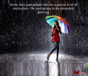 Rain quotes for Facebook