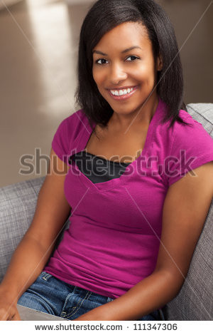 African American Sexy Woman