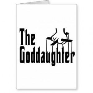 The Goddaughter Greeting Card