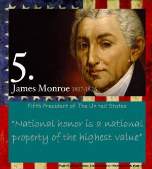 James Monroe's quote #4