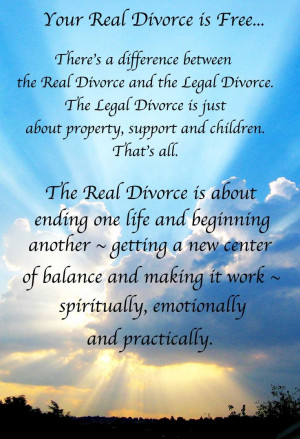 Divorce advice. Excerpt from award-winning divorce book,