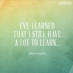 For a woman who's done almost everything, Angelou moved through the ...