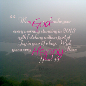 ... million part of Joy in your life bag. Wish you a very Happy New Year