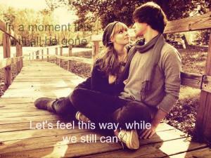 love, moment, quote