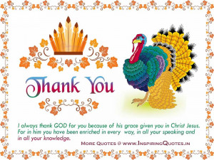 Thanks You, I always thank God for you because of his grace given you ...