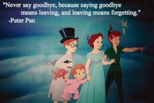 ll never say goodbye to Disney!