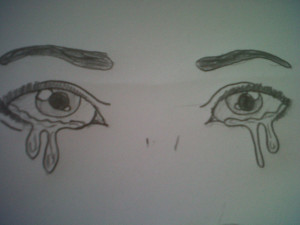 Sad Eyes Drawmaster Drawing...