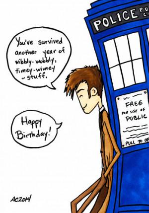 Doctor Who Happy Birthday