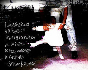 Sir Ken Robinson quote on education