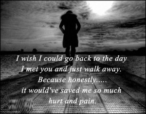 quotes about pain and hurt