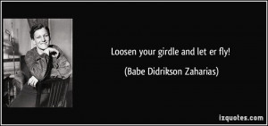 More Babe Didrikson Zaharias Quotes